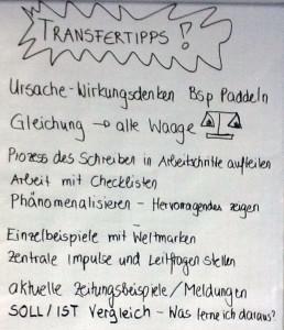 Kollegiale Tipps